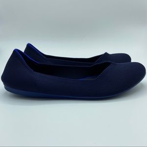 Rothys The Flat Navy Womens Size 11